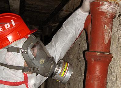 Amiante avant démolition ou travaux à Annecy ou en Haute Savoie/Savoie - 74000 -73000 -
